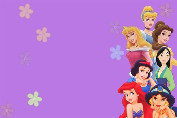 Image Detail For Disney Princess Birthday Invitation Template