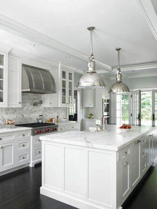 Seven Inspiring White Kitchens Gorgeous White Kitchen Kitchen Remodel Small White Kitchen Design