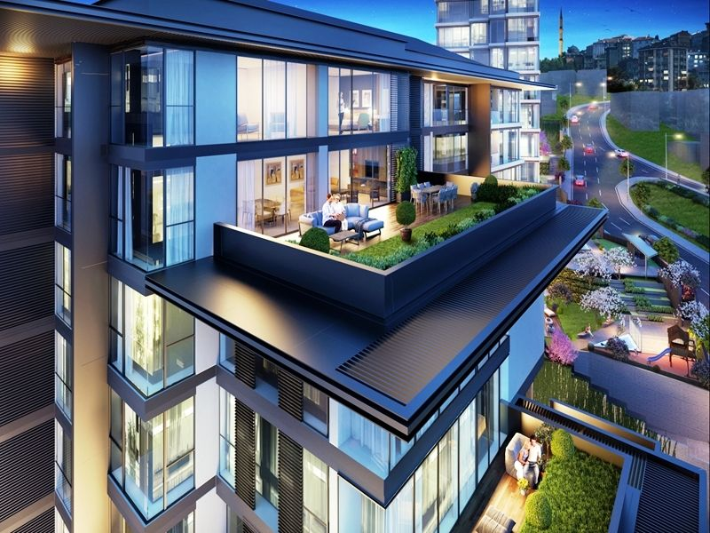 Magnificent Three Bedroom Duplex Apartments For Sale In Eyup Istanbul Home Interior And Landscaping Fragforummapetitesourisinfo