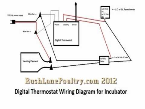 wiring digital thermostat incubator wiring diagram blog DIY Chicken Egg Incubator build \\\