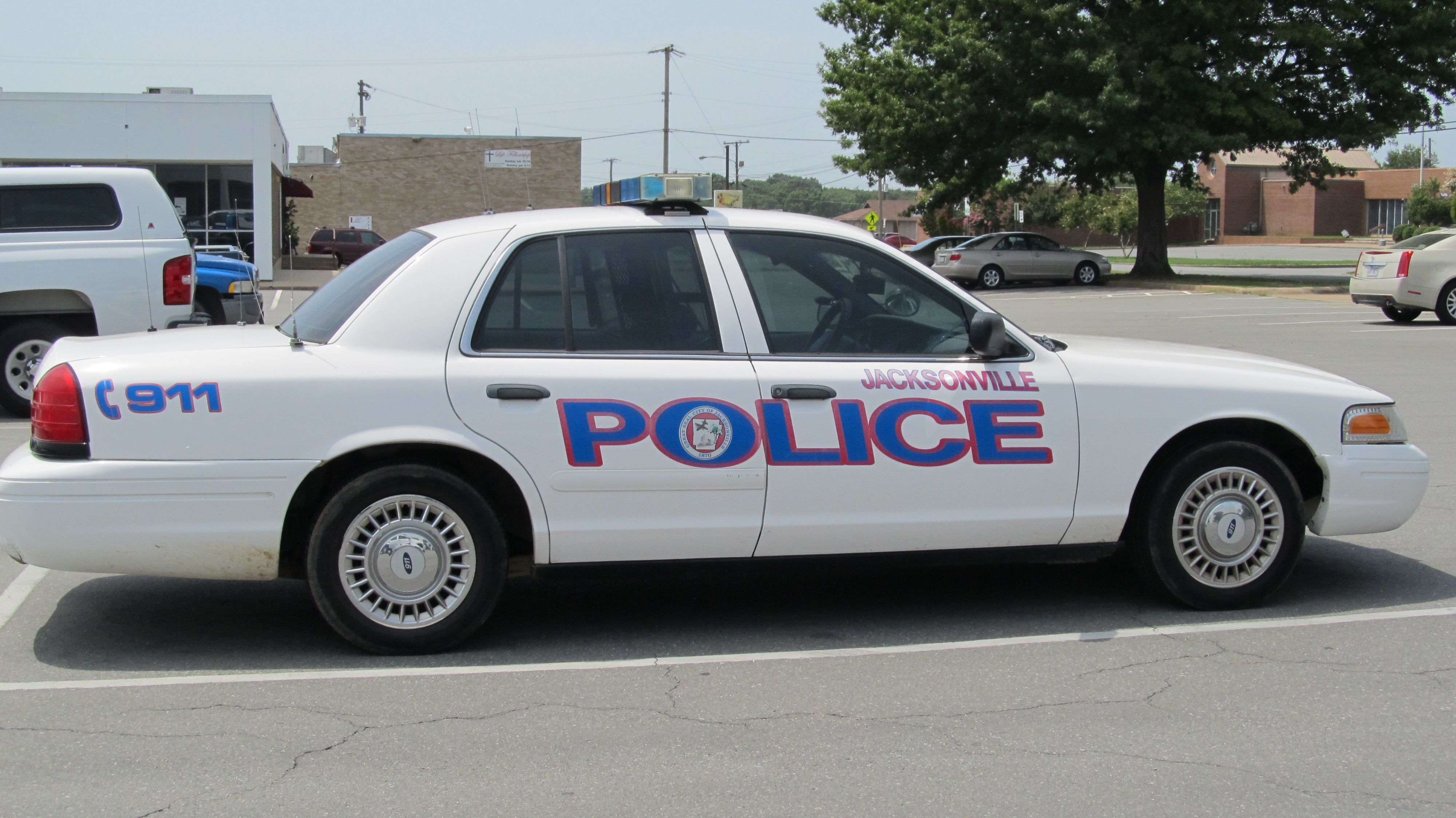 Jacksonville Pd Police Cars Police Interceptor