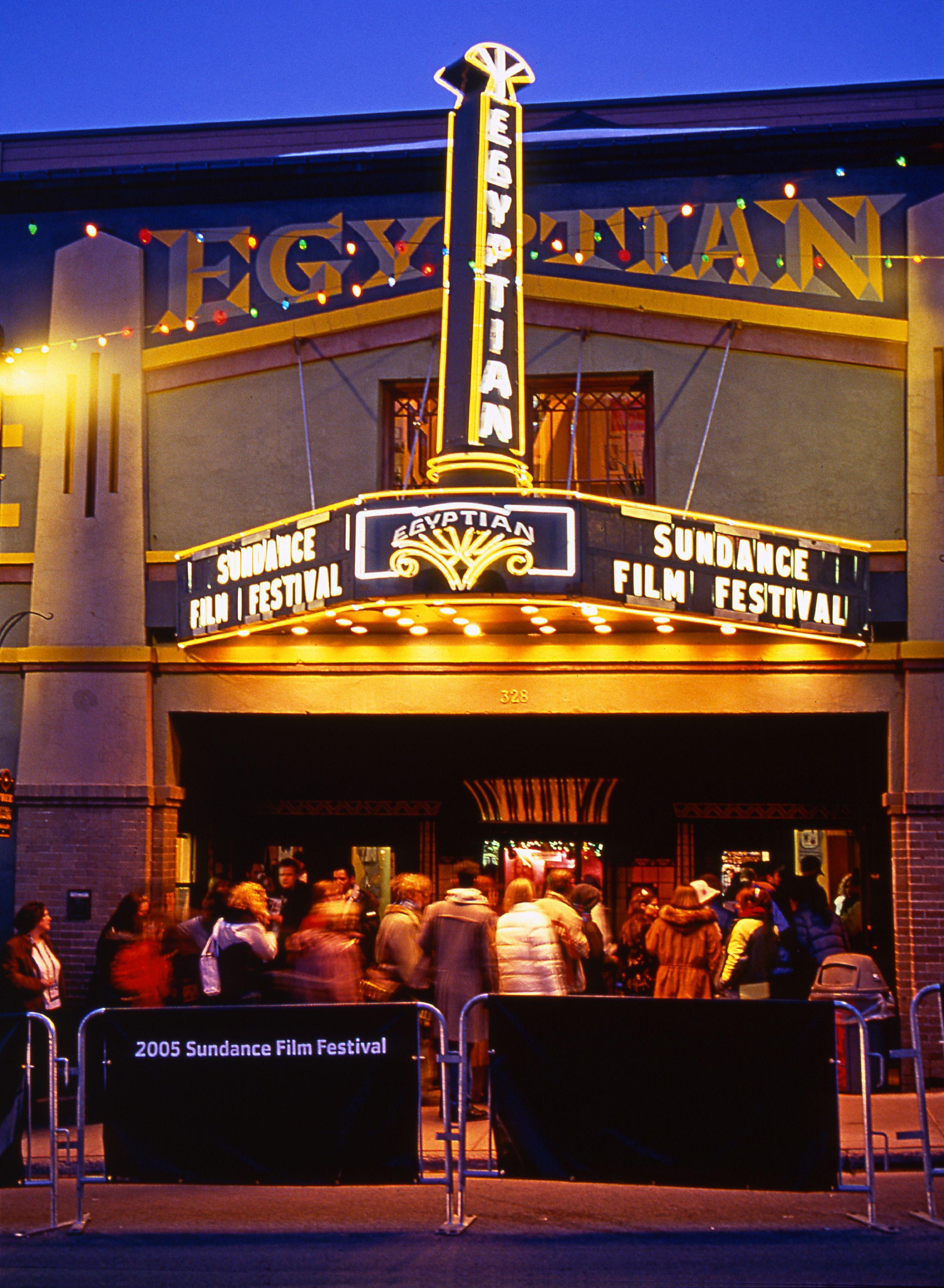 January the sundance film festival is held in park city