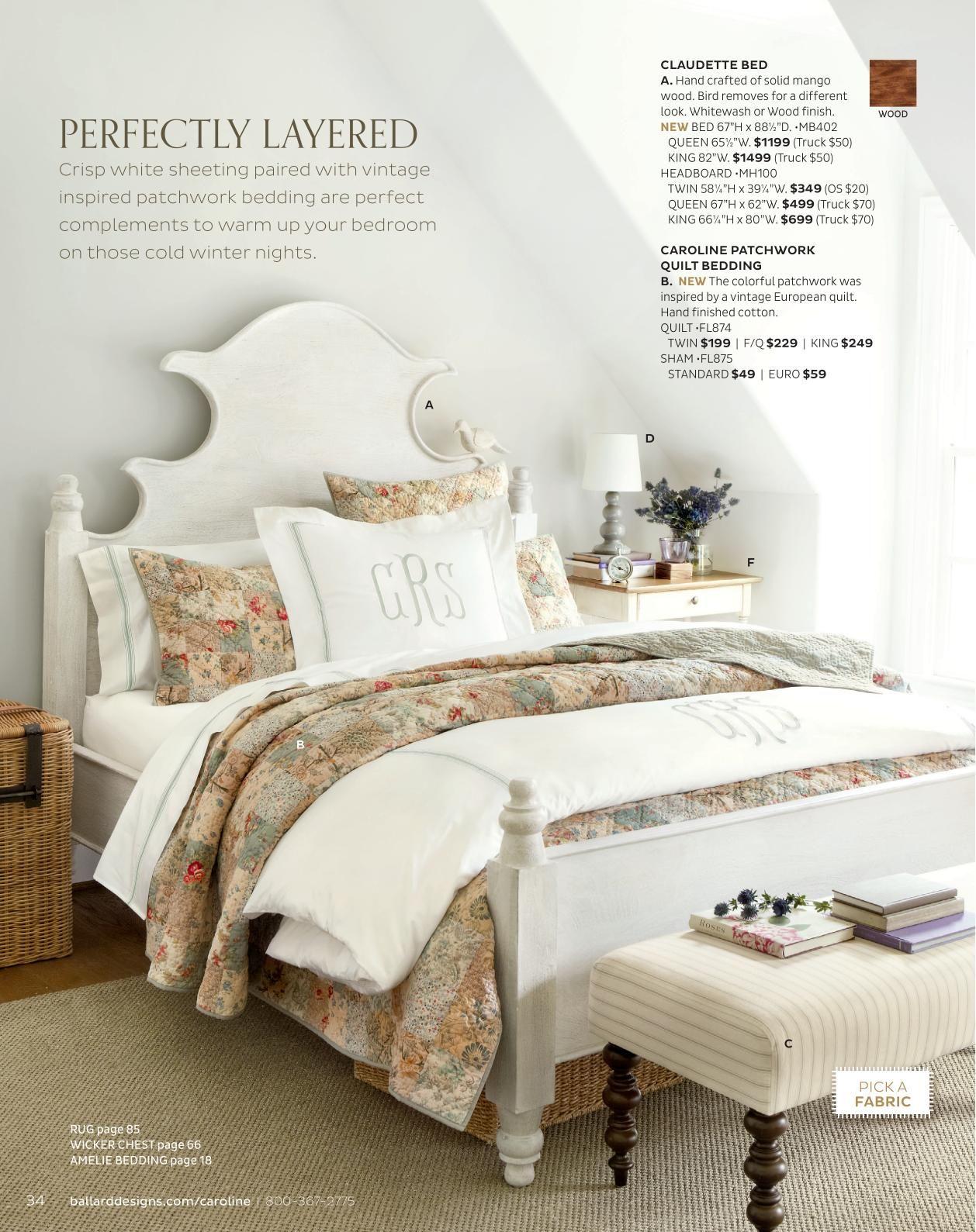 Ballard Designs Online Catalogs | Home decor bedding ...