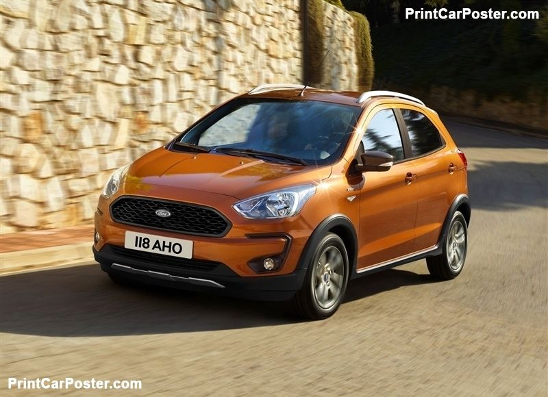 Ford Ka Plus Active 2019 Poster Carros Vans Caminhoes