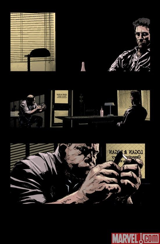 WOLVERINE NOIR #1 preview art by C.P. Smith
