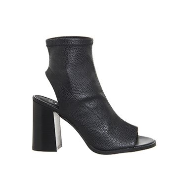 Office Jaybird Stretch Cut Out Boots Black Ankle