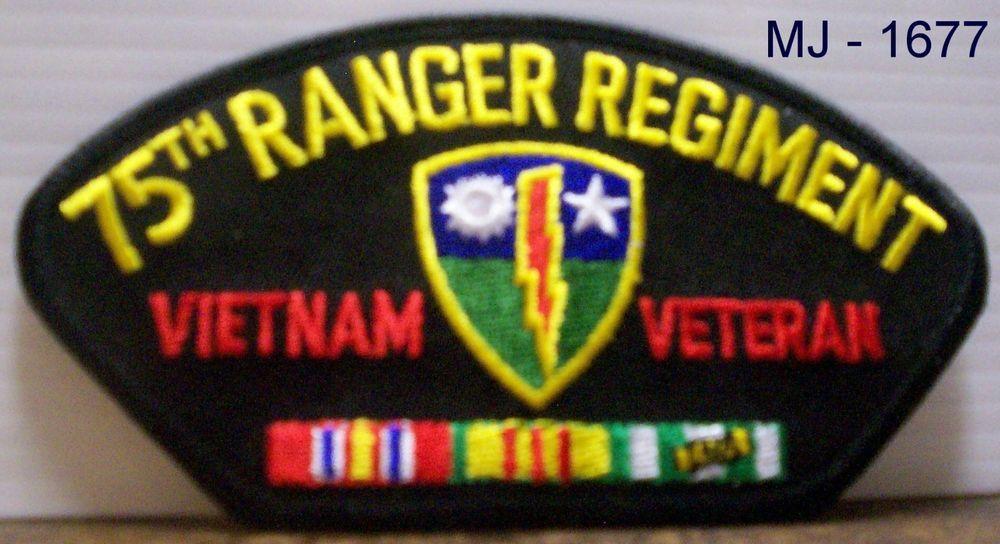 Us Army 75th Ranger Regiment Vietnam Veteran With Ribbons