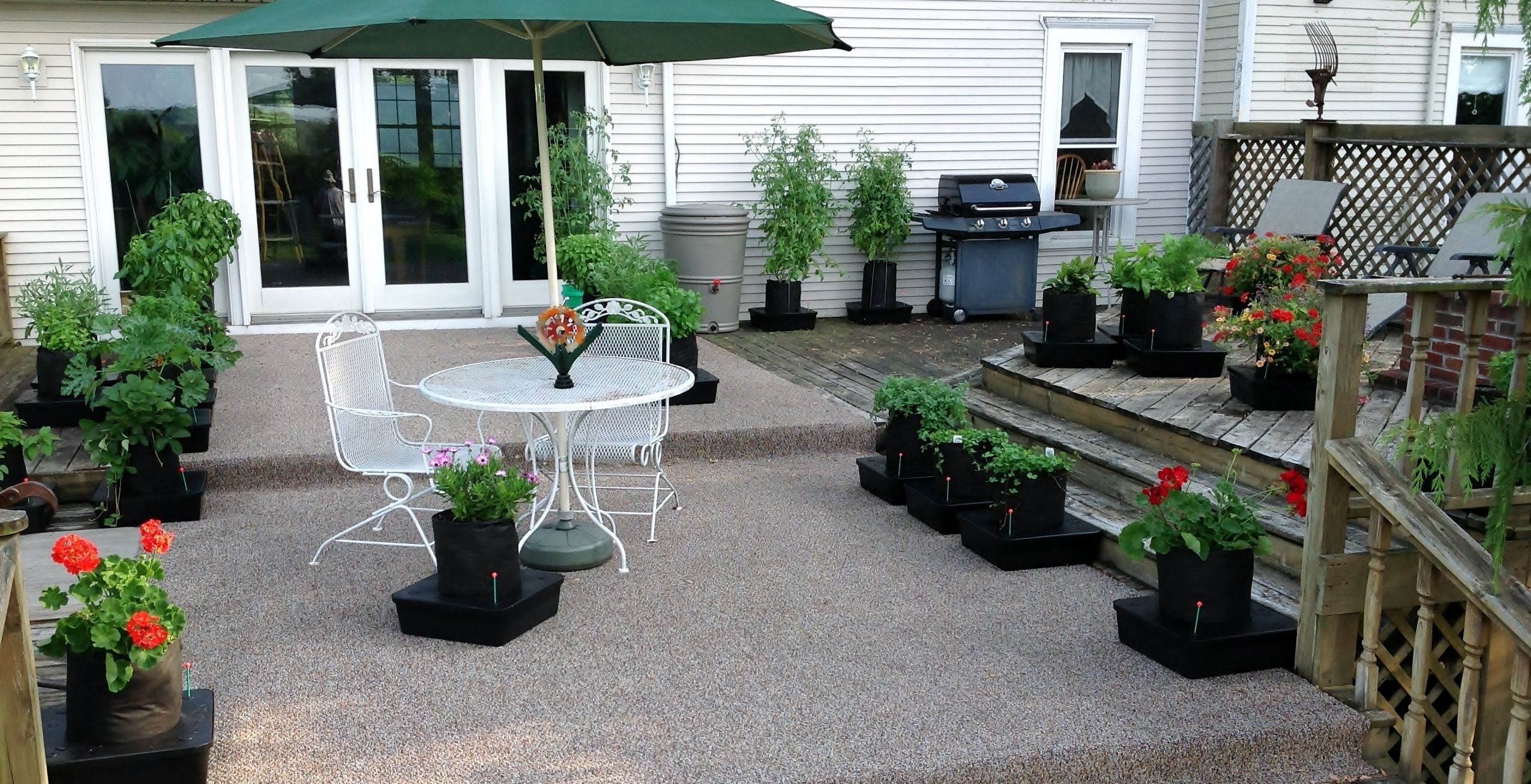 Add Beauty To Your Deck Or Patio While Growing Fresh