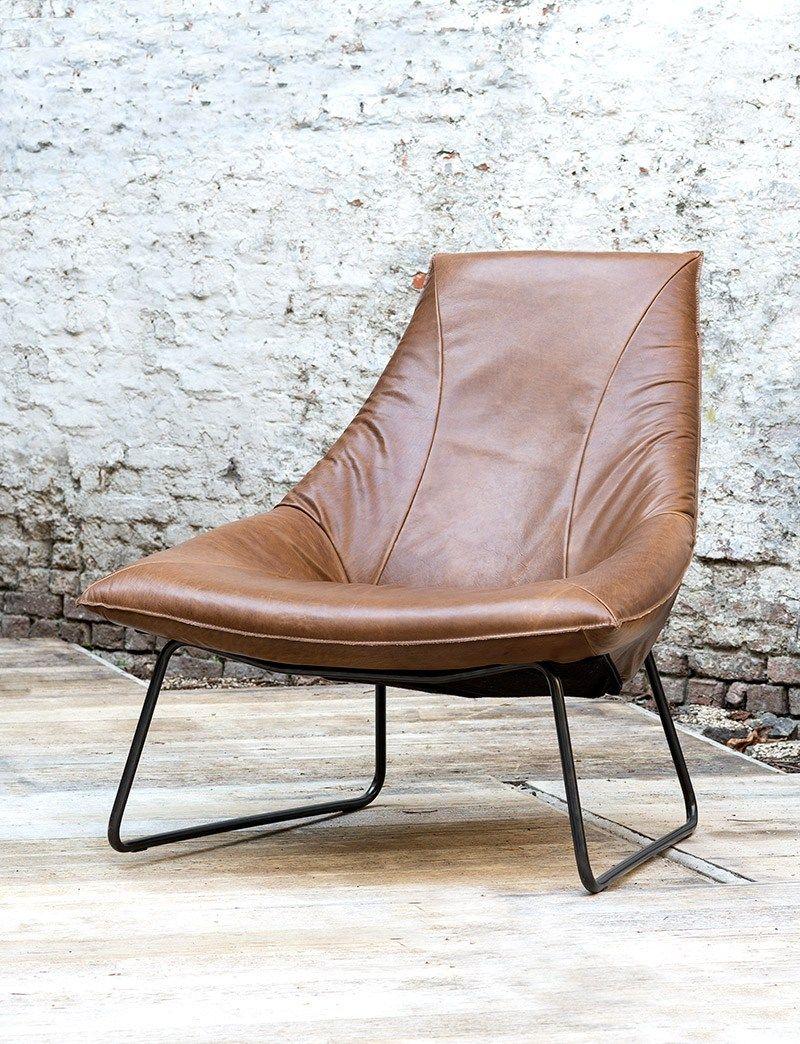 Leren Lounge Fauteuil.Lederen Lounge Zetel Take A Seat Lounge Interieur En Meubels