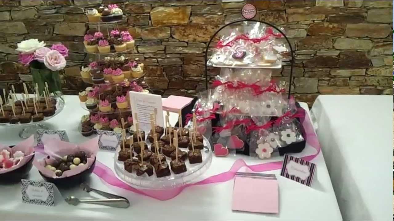 Como preparar un candy bar para boda rustica buscar con - Como organizar una mesa dulce ...