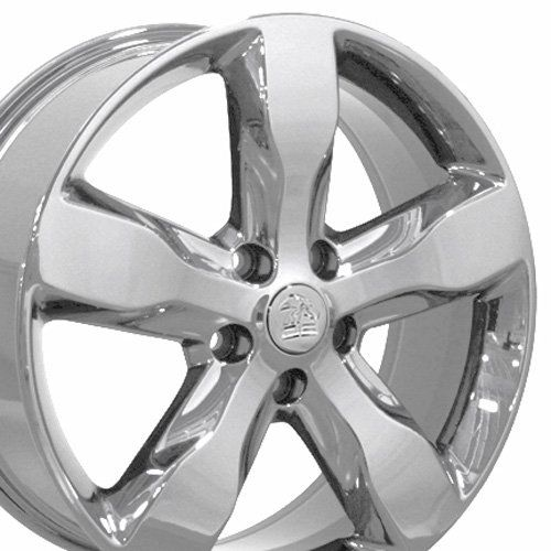 20 inch fits jeep grand cherokee factory original wheels chrome 20x8 set of 4 oe wheels. Black Bedroom Furniture Sets. Home Design Ideas