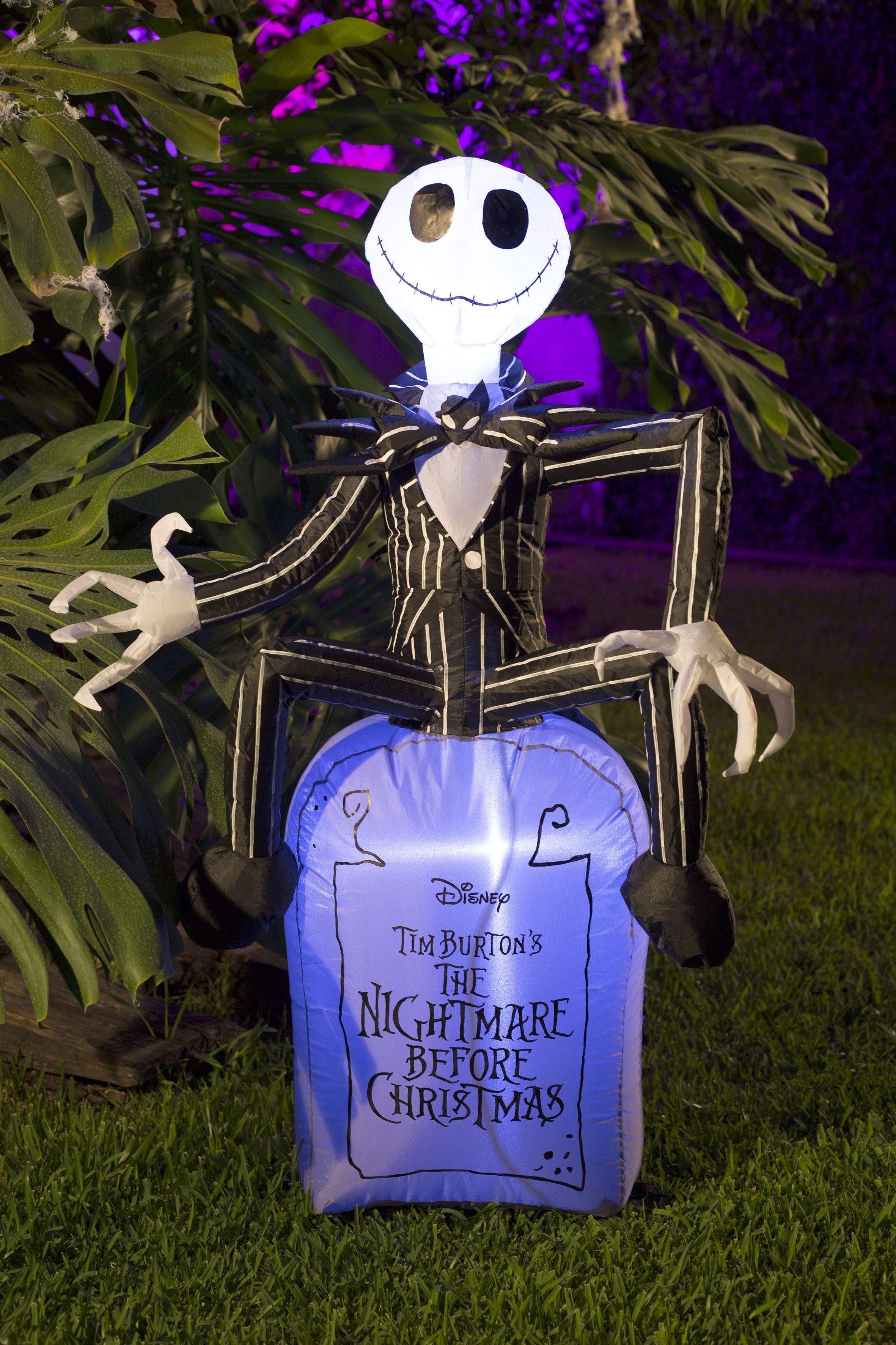Inflable para decoración exterior Halloween 2019 (con imágenes) | Calabazas de halloween. Halloween. Jack disney