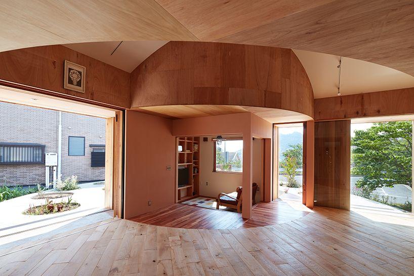 Japanisch Wohnen fujiwaramuro architects house in mukainada hiroshima