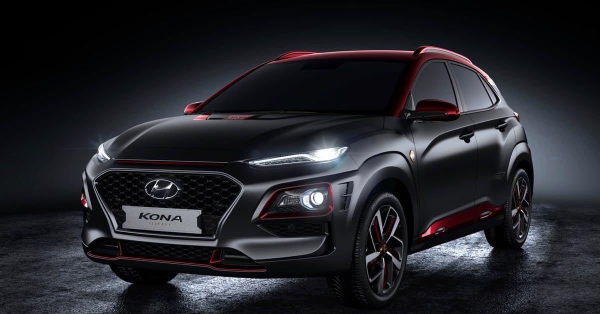 Hyundai Kona Iron Man Edition Unveiled At 2018 San Diego Comic Con Digital Trends Iron Man Hyundai Compact Crossover