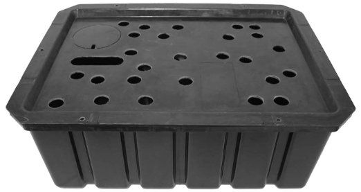Amazon Com Easypro Rbh21b Rectangle Redi Basin For Statues Bubbling Rocks Fountains 21 By 28 Inch Patio Lawn Garden Rock Fountain Basin Fountain