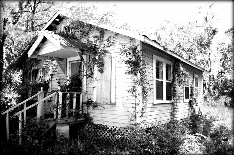 old broken down houses... House styles, House, Photo