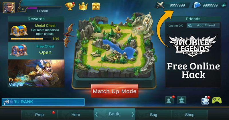 Mobile Legends Hack 2019 - Online Cheat For Unlimited