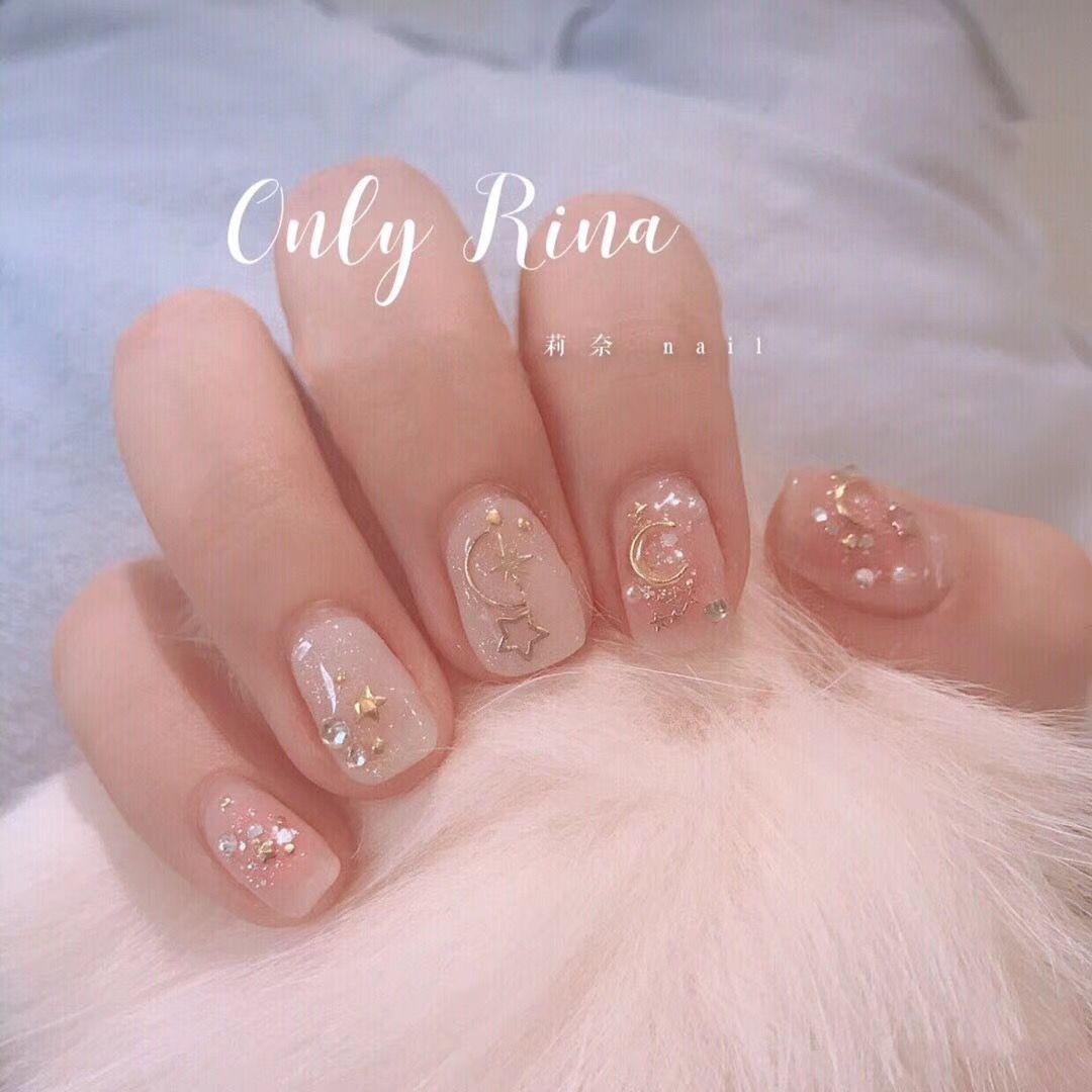 Unas Japonesas Koreannailart Unas Japonesas Kawaii Nails Korean Nail Art Asian Nails