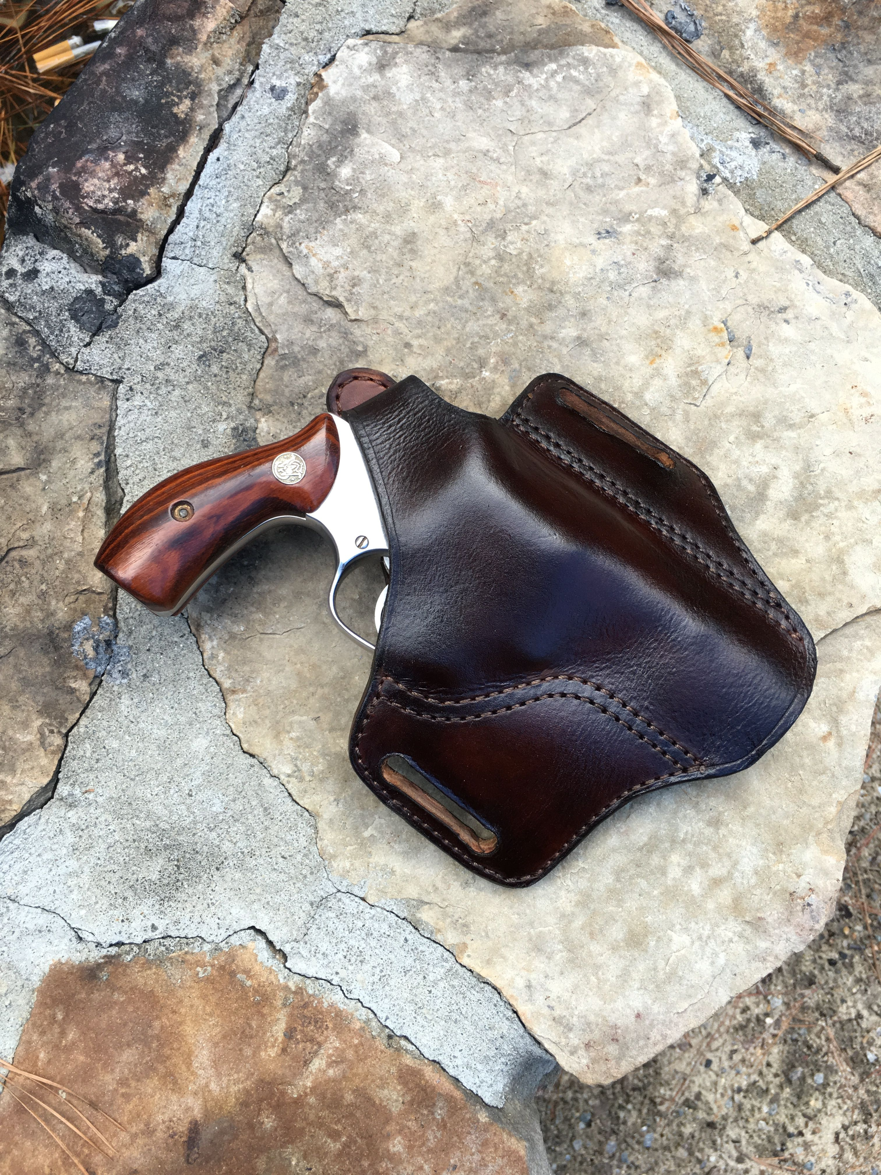 Pancake holster smith and Wesson 3 inch J frame  Custom