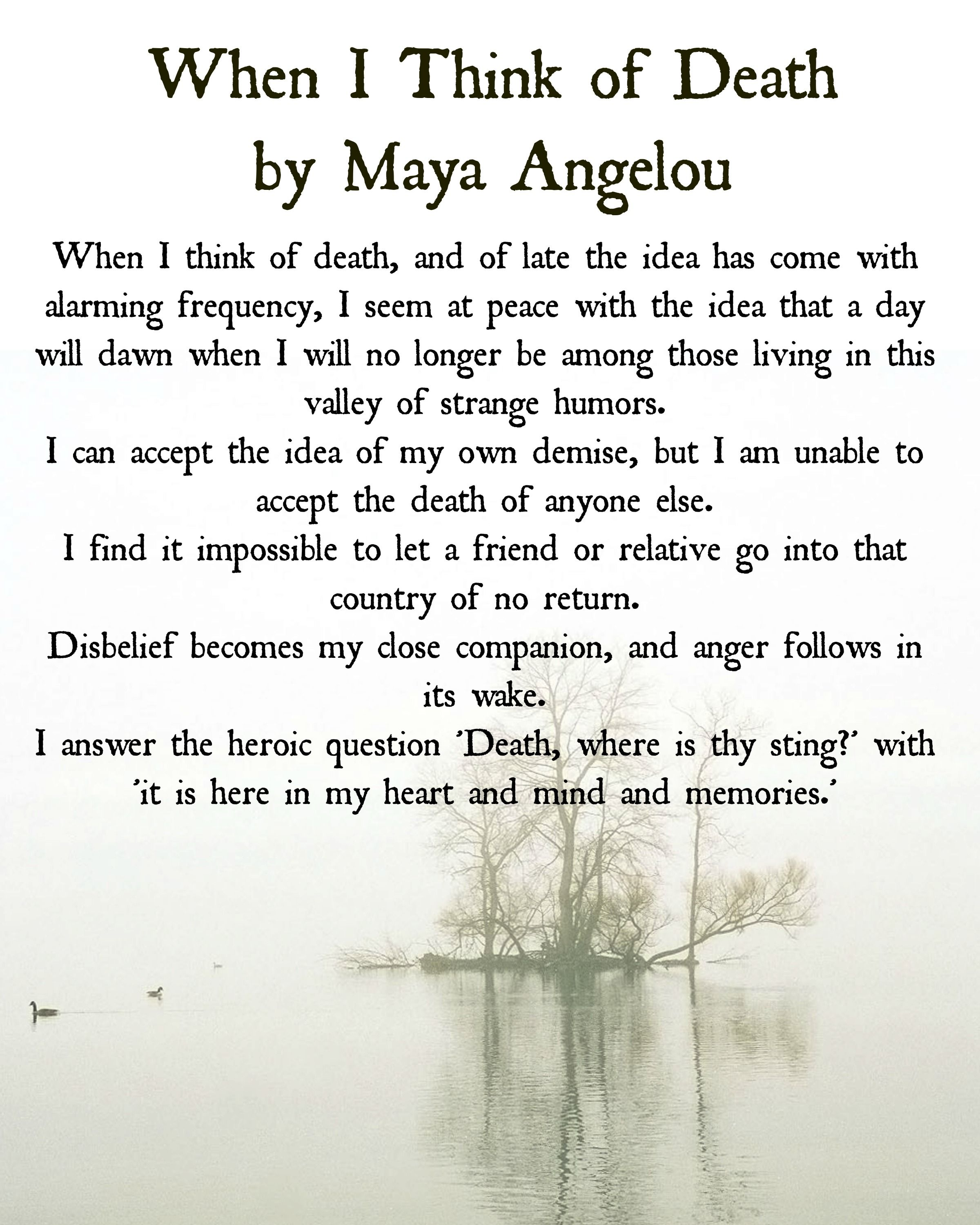 In Memory Of Loved Ones Quotes In Remembrance Of Maya Angelou  What's Your Grief  Grief