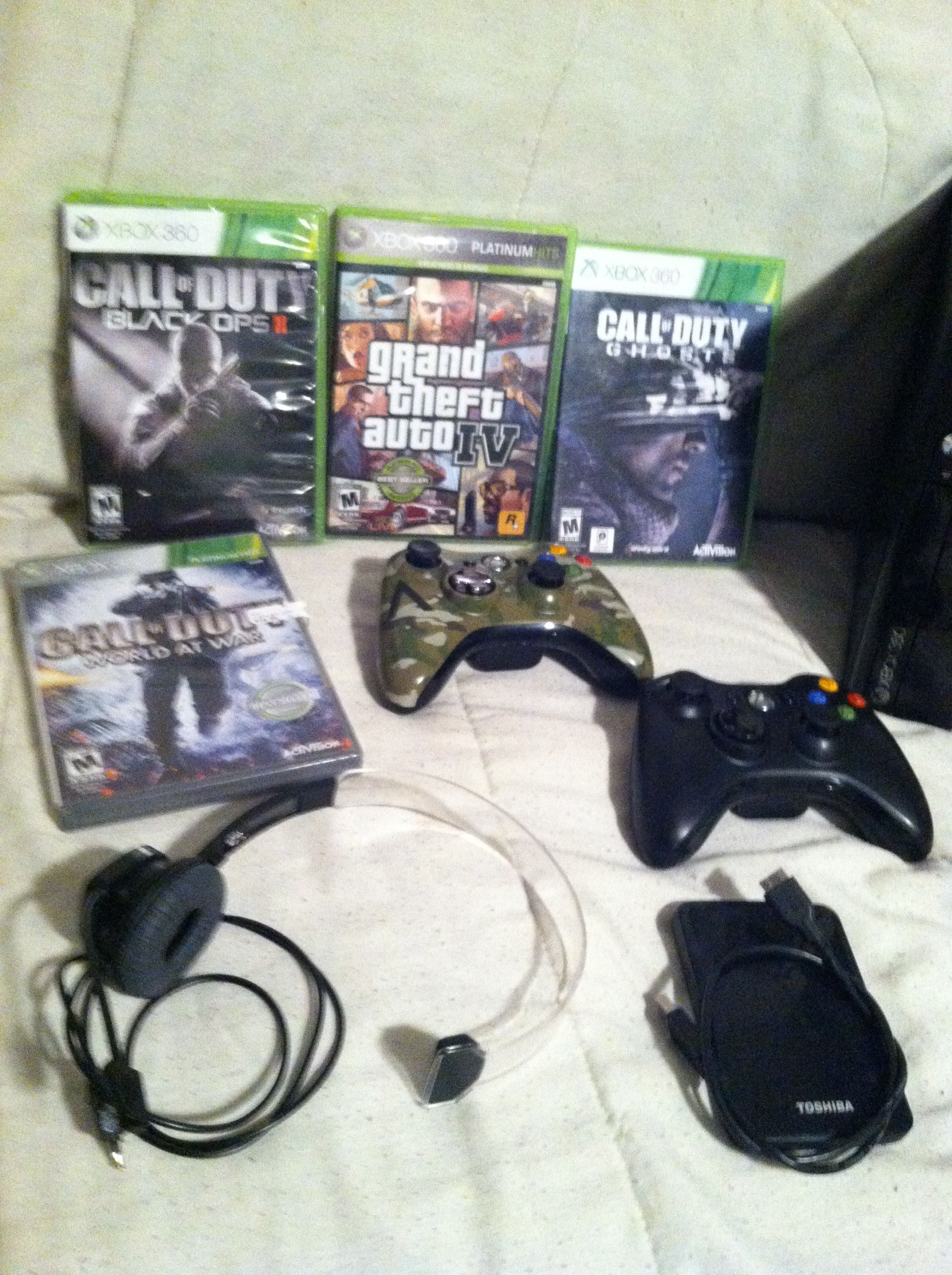 Xbox 360 Elite In Ron Sale S Garage Sale Angola In Garage Sale