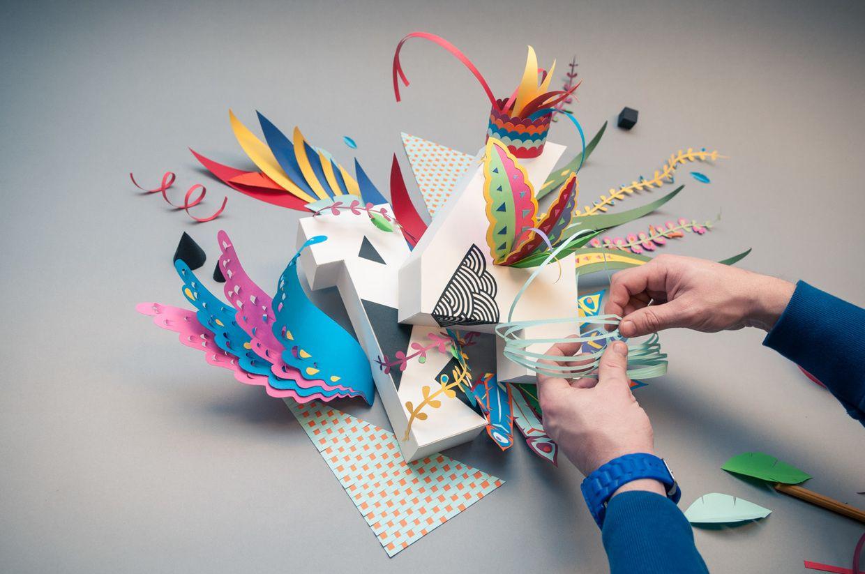 Paper folding inspiration Paper folding inspiration