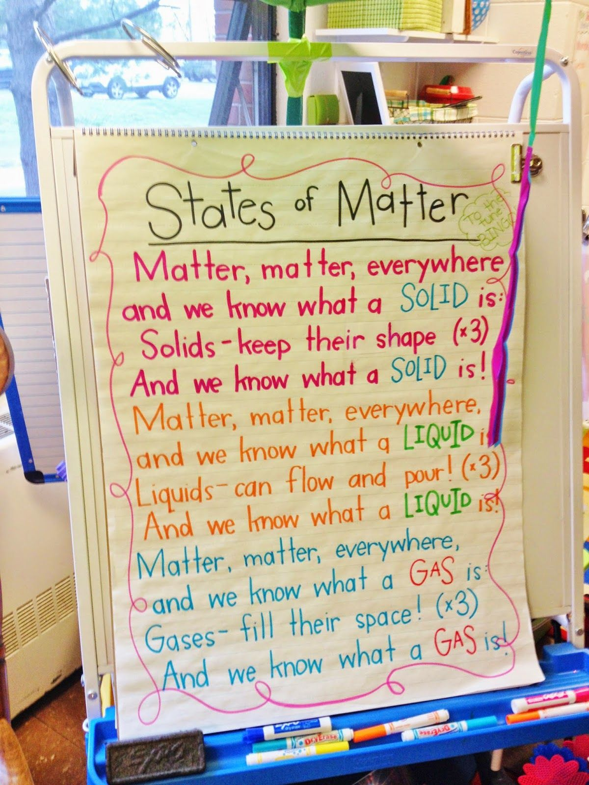 States Of Matter Song Freebie