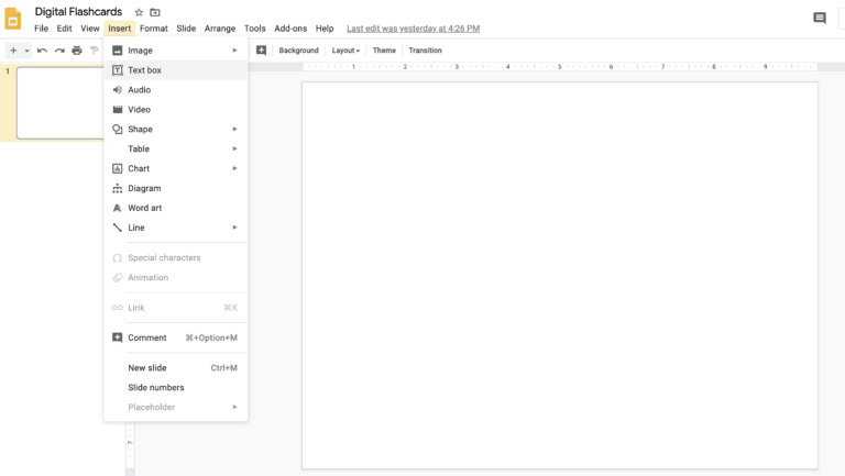 How To Create Digital Flashcards With Google Slides Literacy In Focus In 2020 Flashcards Google Slides Free Educational Apps