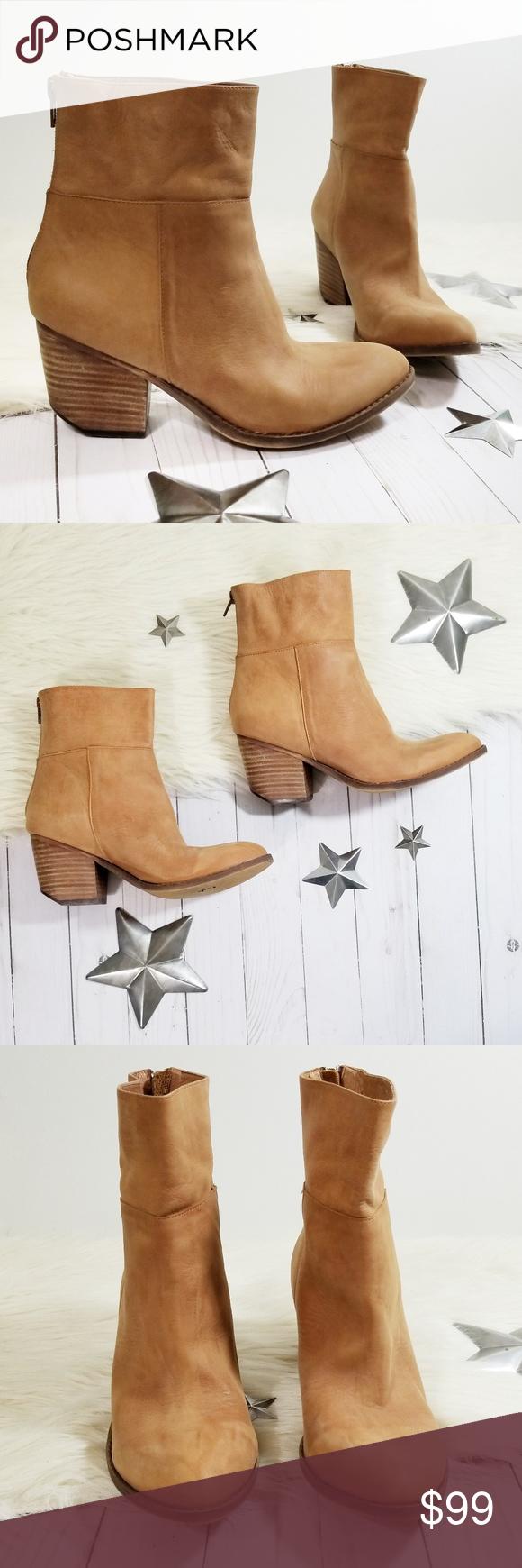 368766235ff03 Jeffrey Campbell Ibiza Rosmore Boots tan leather 8 Jeffrey Campbell Ibiza  Last series heeled ankle boots