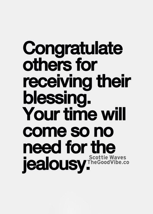 No Need For Jealousy Advice Quotes Positive Quotes Quotes To Live By