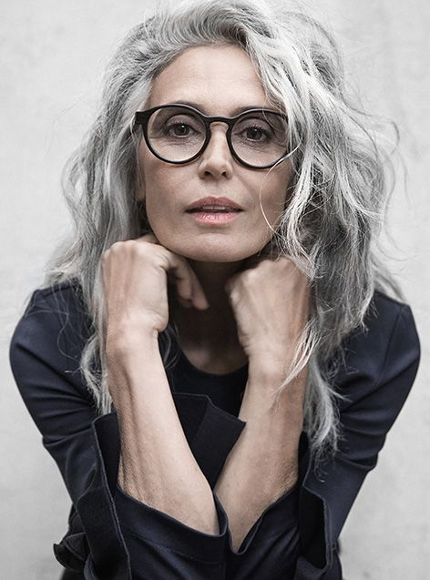 Milva #382 | Long gray hair, Grey hair over 50, Grey hair