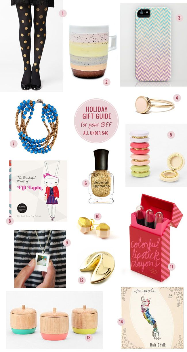 Holiday Gift Guide u2013u2013 For Your BFF (All Gifts under 40 dollars!) & Holiday Gift Guide u2013u2013 For Your BFF (All Gifts under $40!) | GIFT ...
