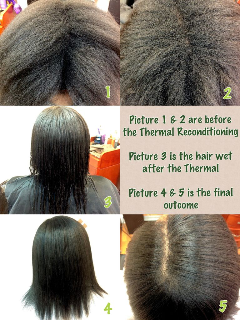 Thermal Conditioning A K A Japanese Straightening