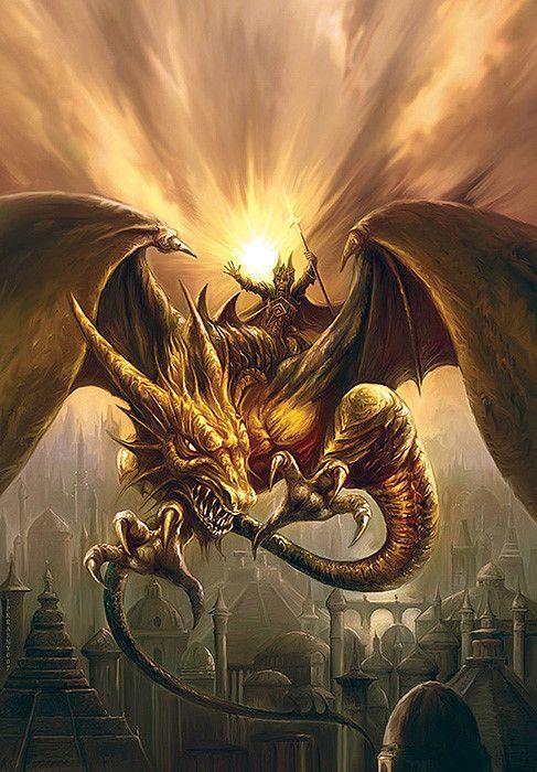 Ene Patrik Krasny - El dragón de oro