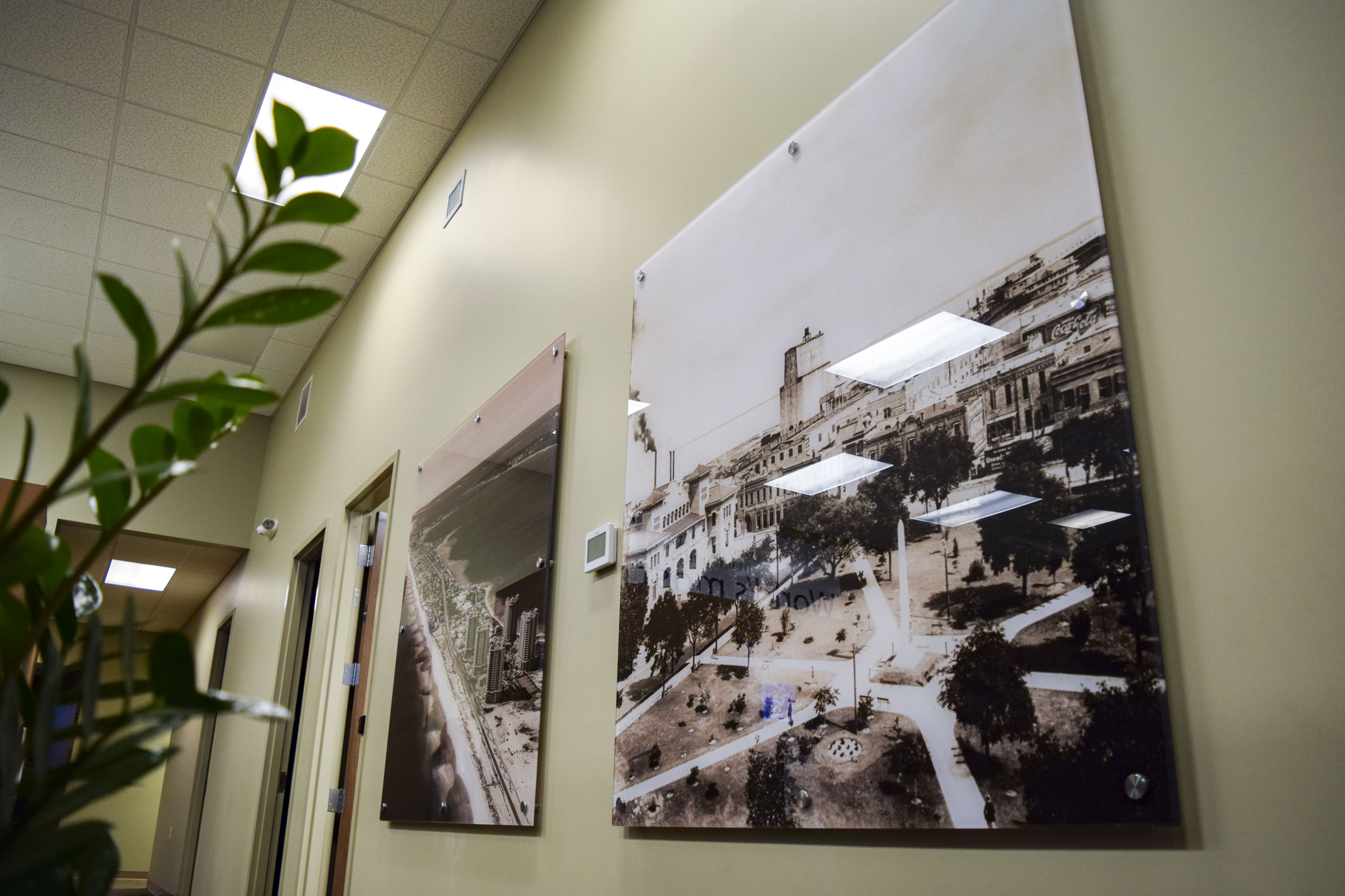 Acrylic Photo Display Panels Crafted For Lacy Phillips Designs