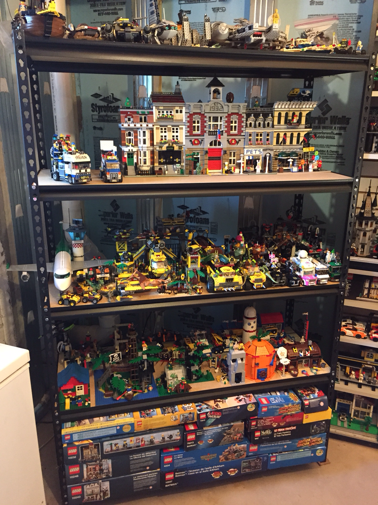 My Lego Collection Lego Collecting Lego Display Lego