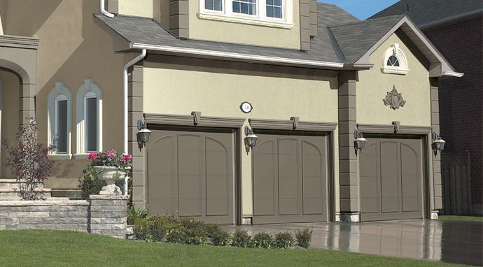 Integrate your garage into your home\u0027s exterior color scheme with