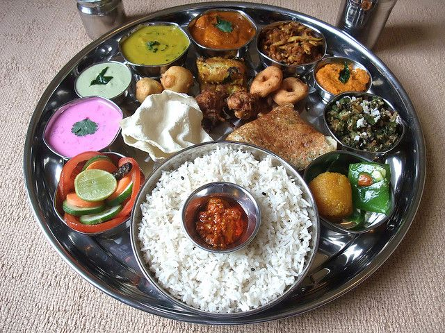Indian Food South Indian Thali 4 Indian Food Recipes Food