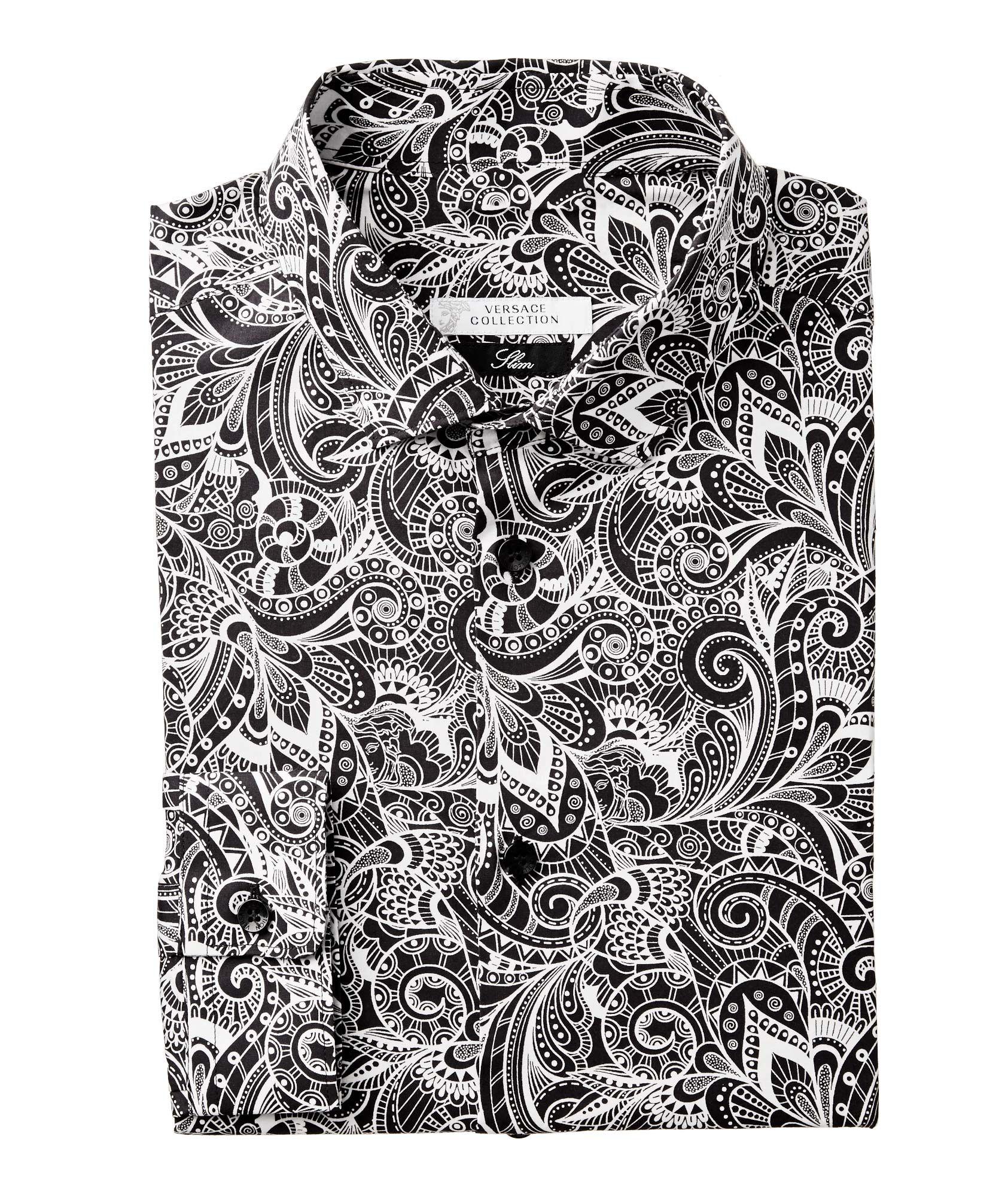 f4b49176b0c6 Versace Collection Baroque Print Shirt | Sport Shirts | Harry Rosen ...