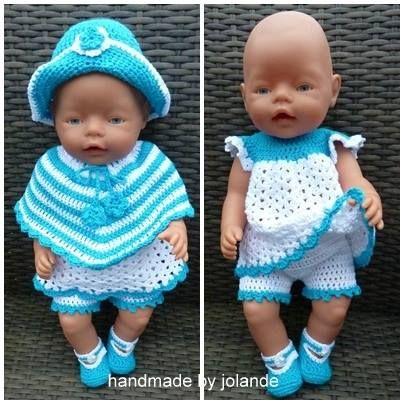 Baby Born Handmade By Jolande Haken Pinterest Puppenkleidung