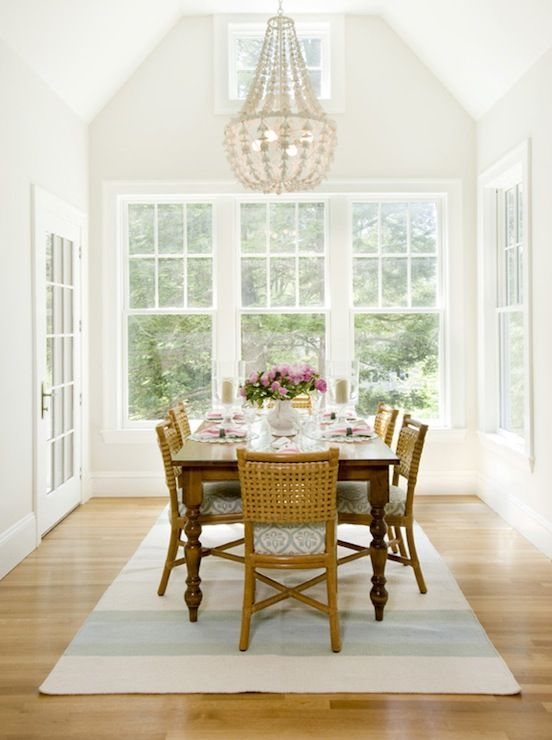 Height Of Chairs, Mixing Wood Finishes, Layout Of Your Dining Room.