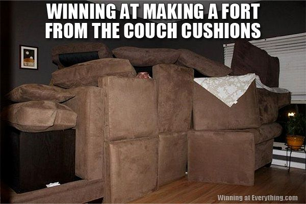 You Werent A Kid If Didnt Make Awesome Forts Out Of