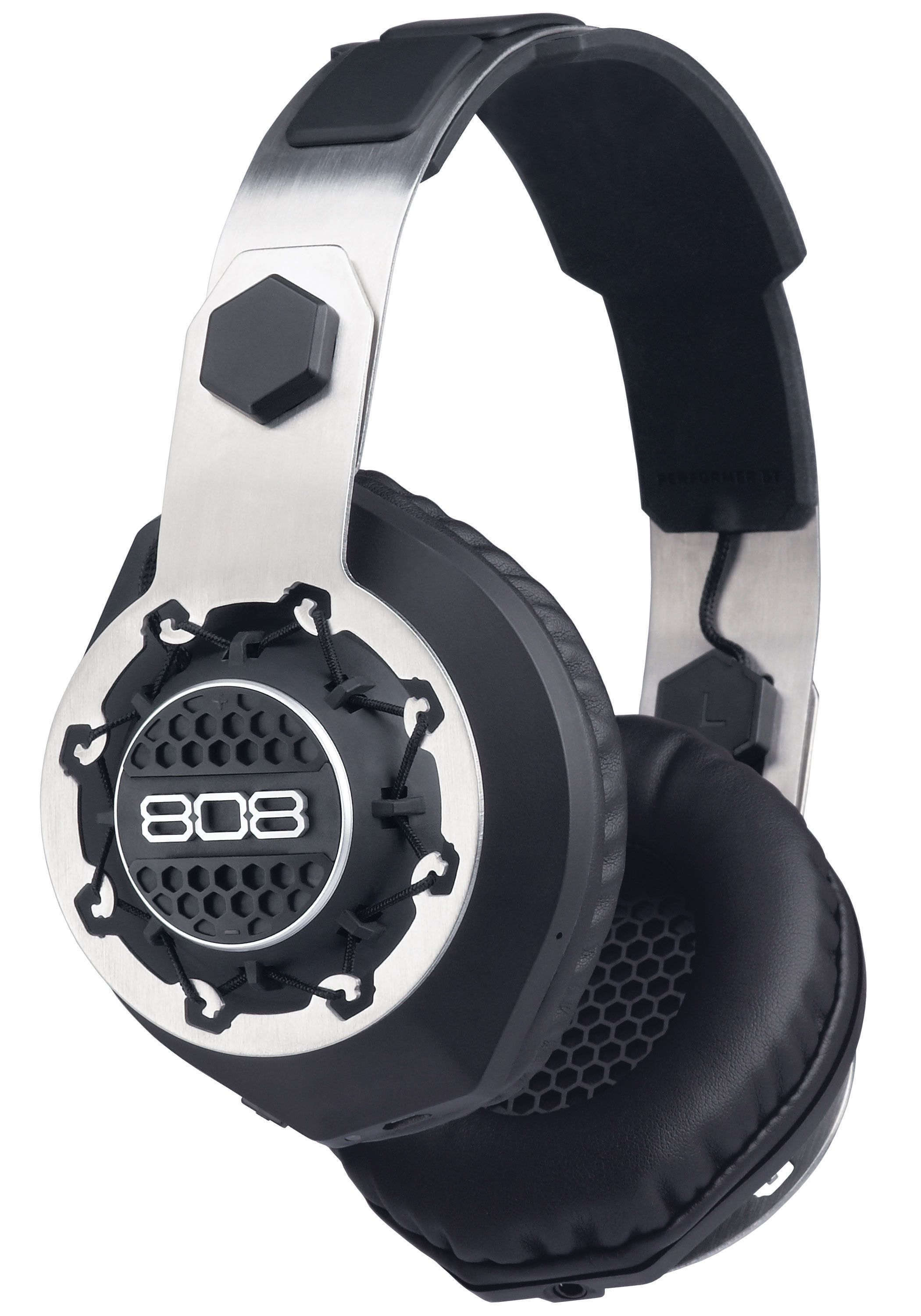 Bluetooth Headphones With Wired Option | 808 Performer Bt Headphones Flex Fit Design 99 99 And Has Both