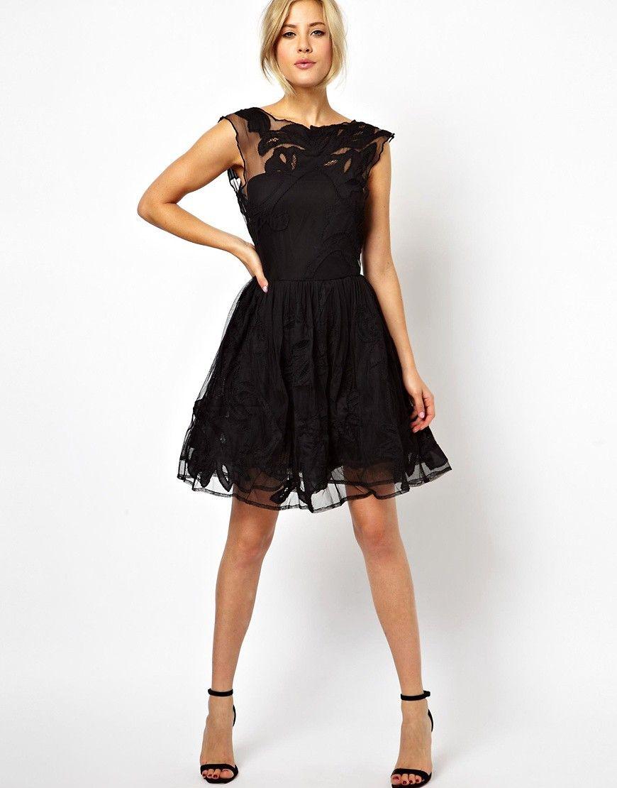ASOS | ASOS Gothic Prom Dress at ASOS www.asos.com | clothing ...