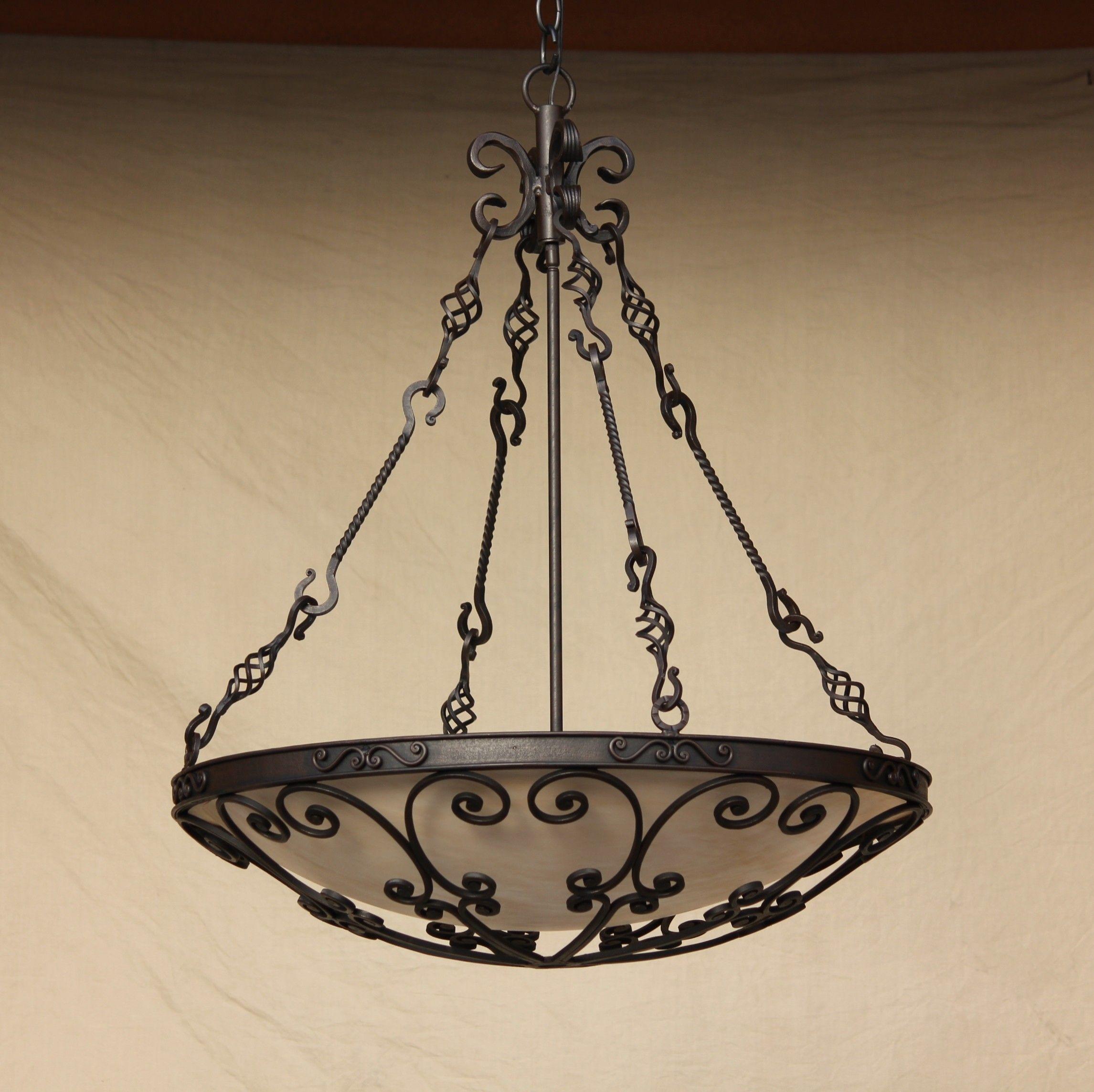 Pendant Lighting Hanging Hand Forged