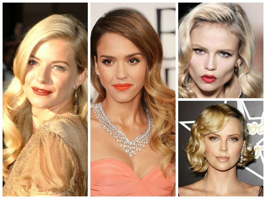 vintage wedding hairstyles for a round face shape | wedding