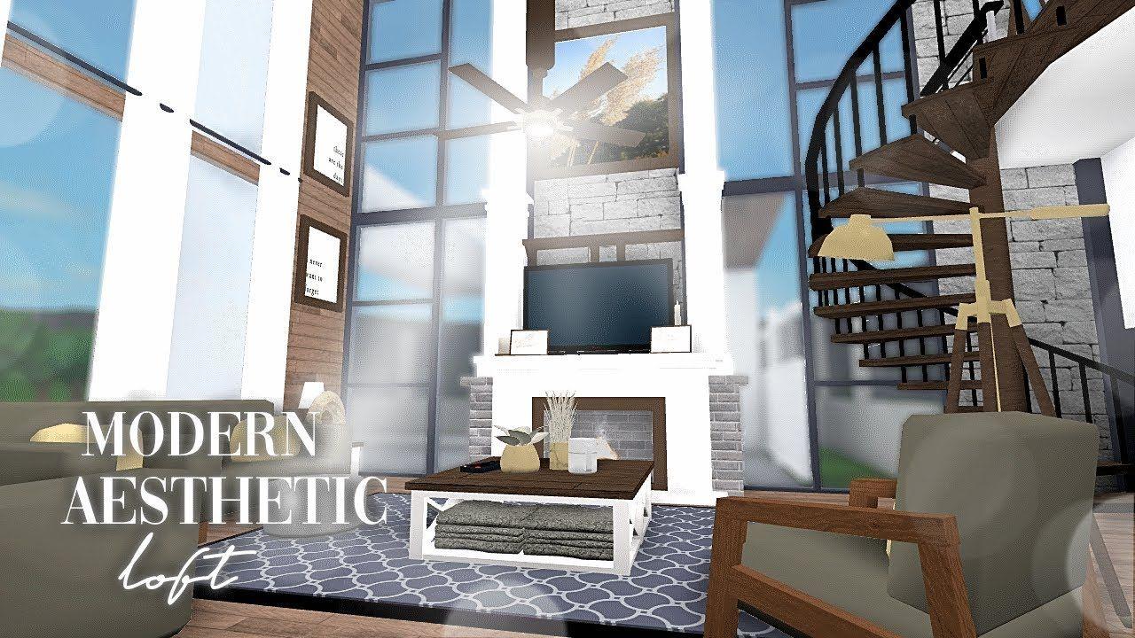 Bloxburg House Ideas Modern Mansion Google Search Two Story