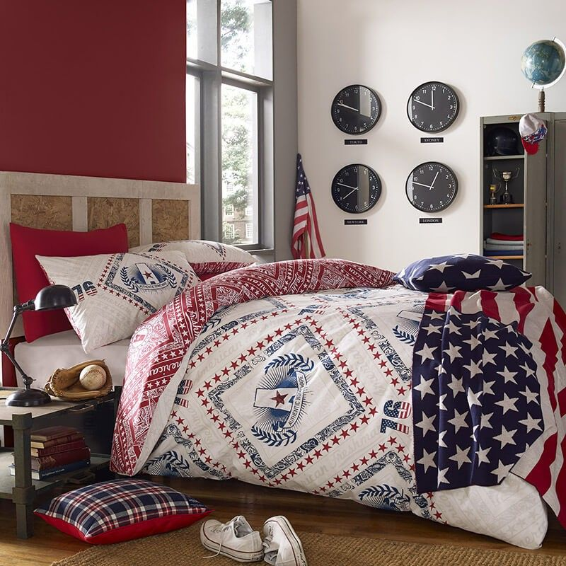 Cooper Bedding by American Freshman at Dotmaison