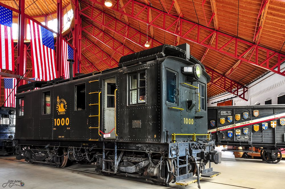 CNJ No. 1000 This 60-ton workhorse was built by the American Locomotive Company in 1925.