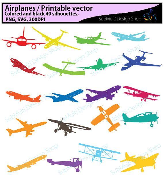 Airplane Svg Aeroplane Printable Aeroplane Svg Files